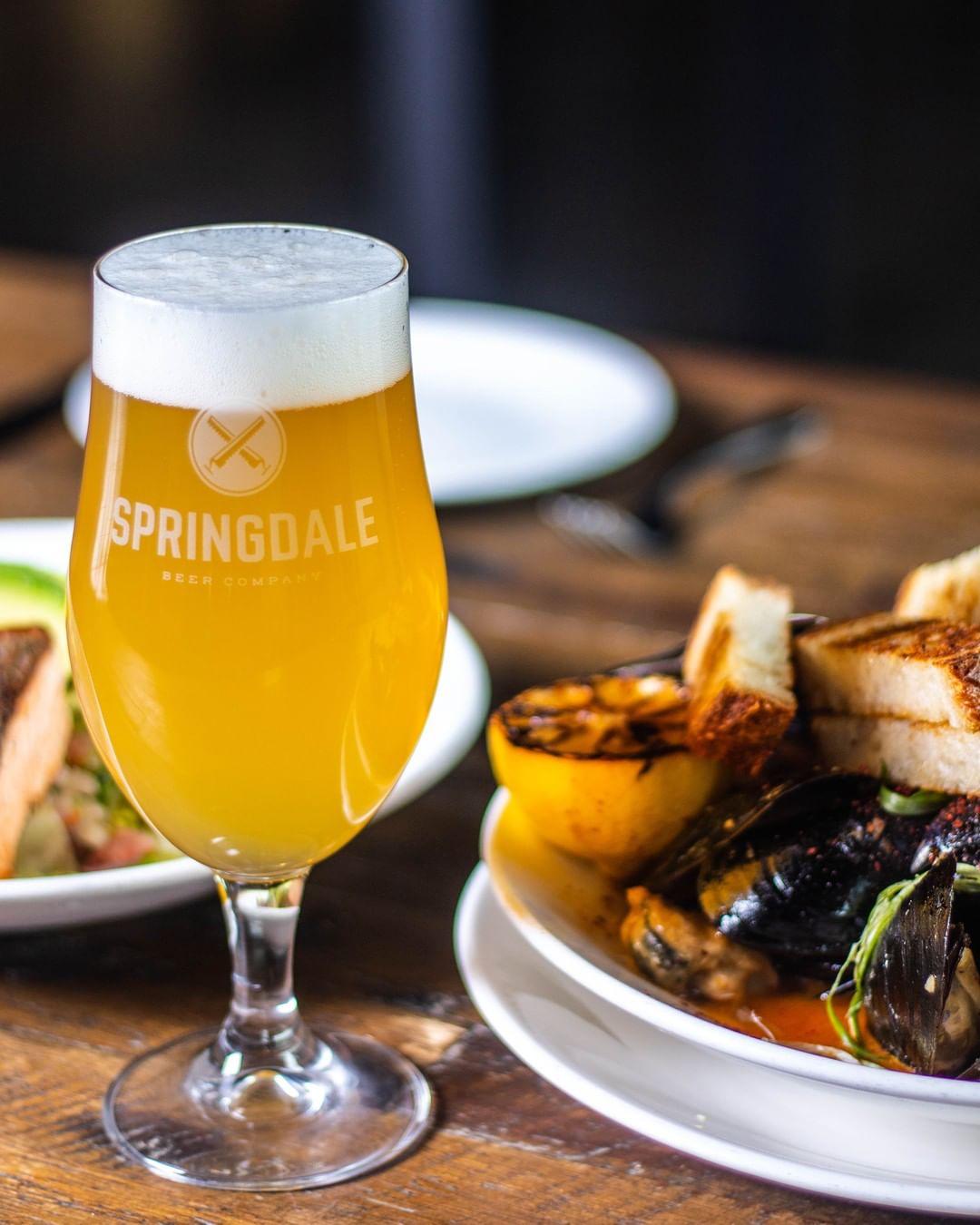 springdale best beer pairings